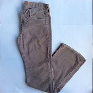 - 7FAM Corduroy Bootcut Pants